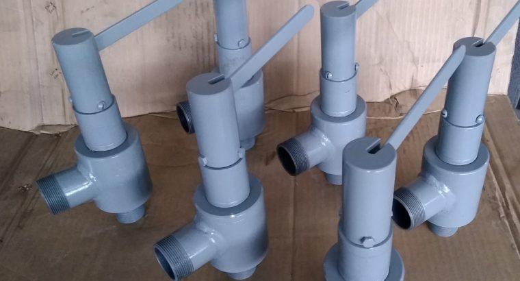 Клапаны предохранительные пружинные ду25,32,40,50.