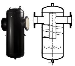 Сепаратор ГРАНСТИМ СПГ25 для пара и сжатого воздух