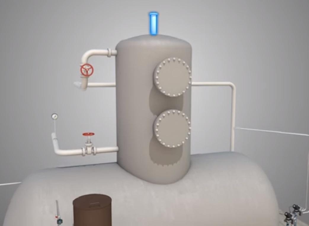 Рис.8. (штуцер для отвода газа)
