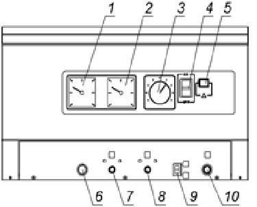 Рис. 4a. Панель управления Alfa Comfort E40-95
