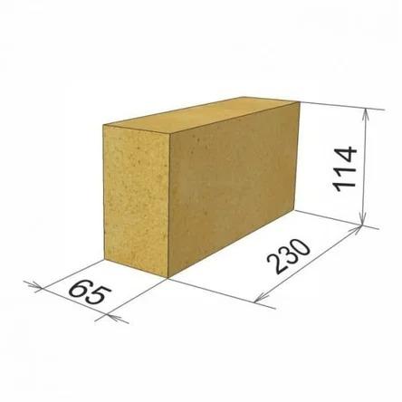 Размер шамотного кирпича ШБ5