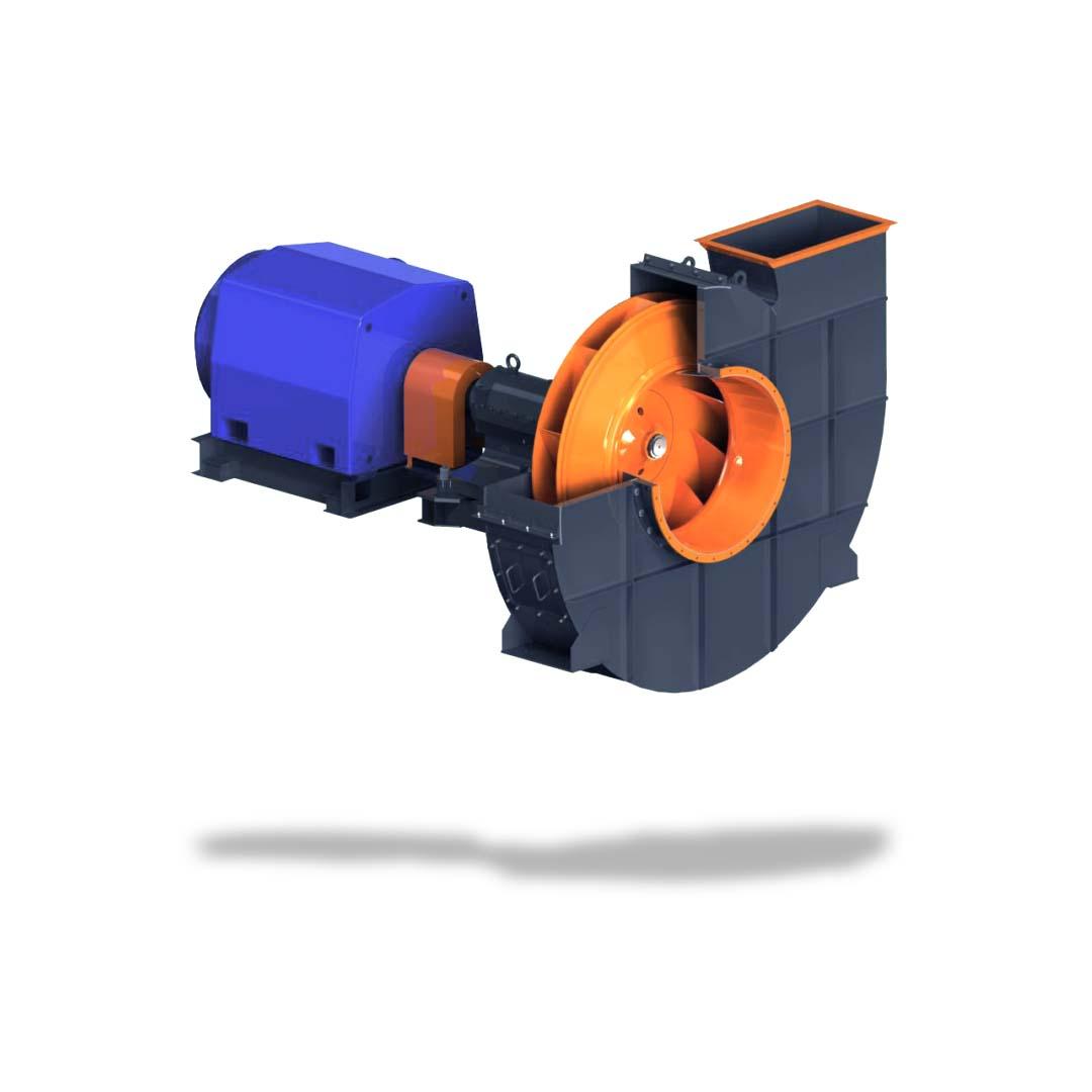 Вентиляторы мельничные типа ВМ и ВВСМ