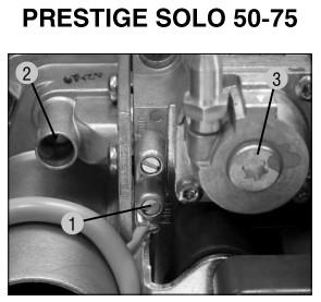 Котлы настенные газовые Prestige Solo 50, Solo 75, Solo 120. Инструкция по монтажу, эксплуатации и обслуживанию