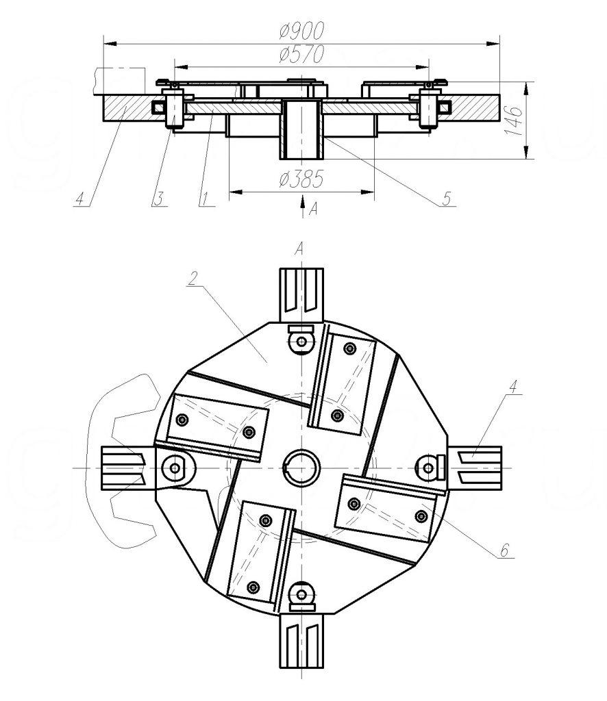 Рис. 2. Блок ротора