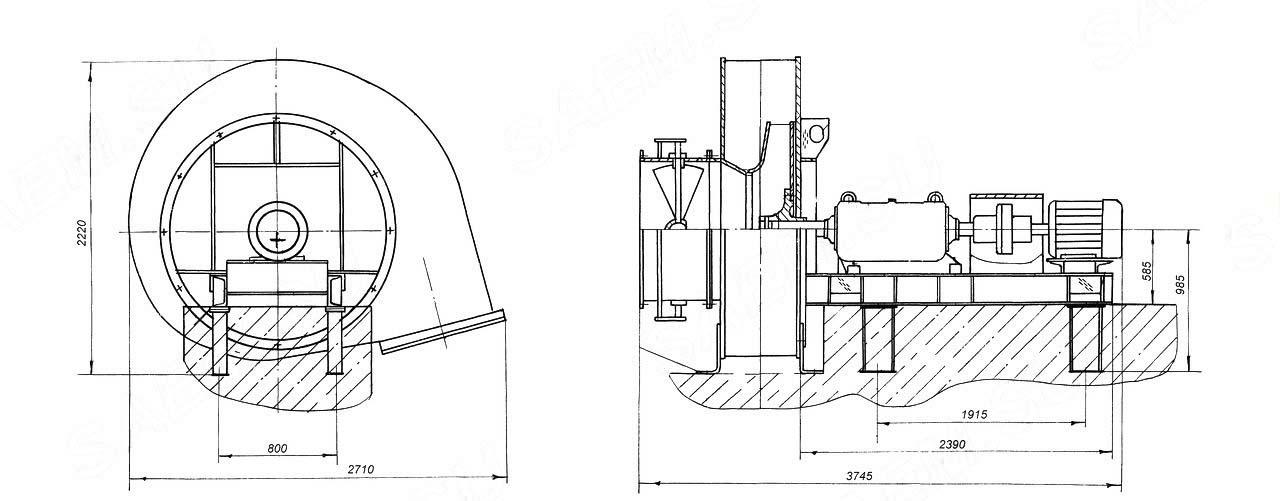 Общий вид ВДН-15