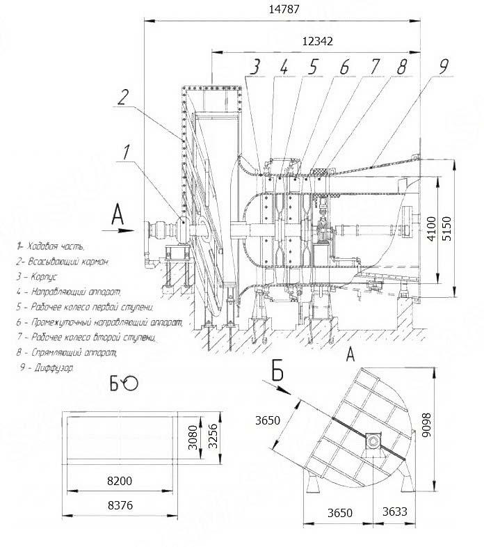 Общий вид ВГДН-15