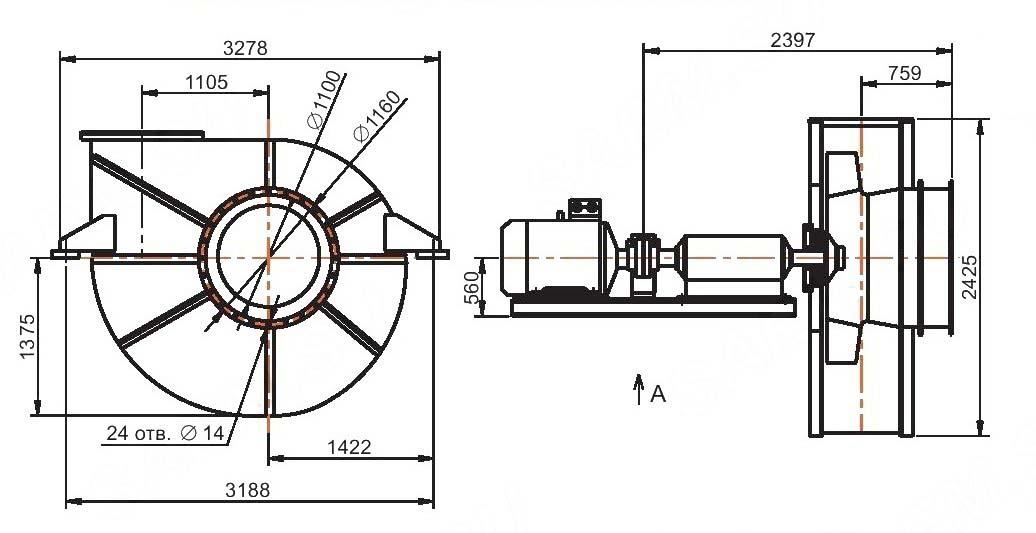 Общий вид ВГДH-17