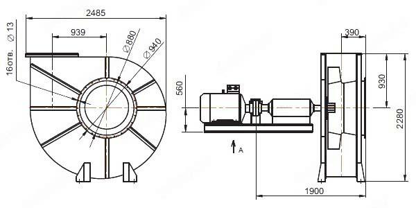 Общий вид ВМ-15