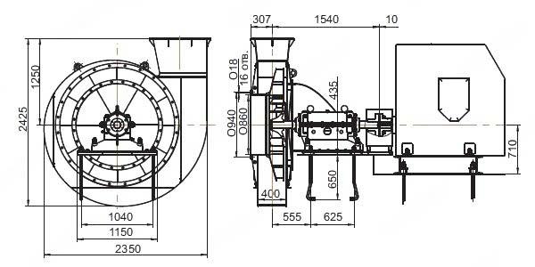 Общий вид ВМ-50