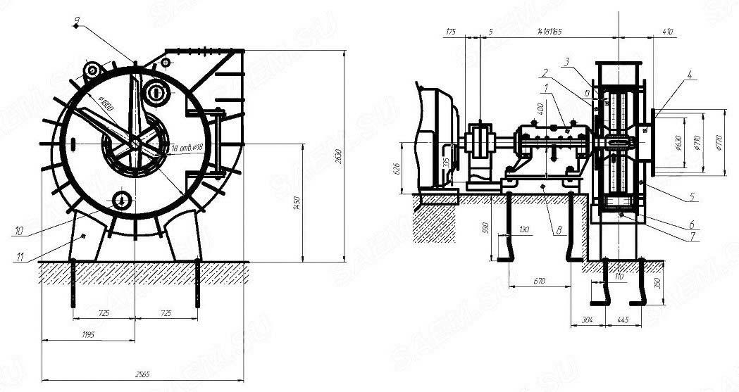 Общий вид ВВСМ-2