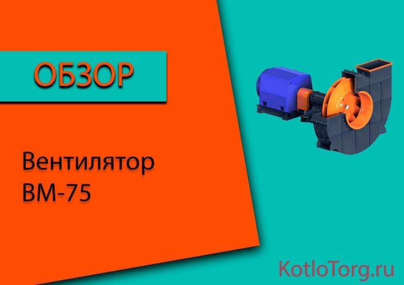 Вентилятор-ВМ-75