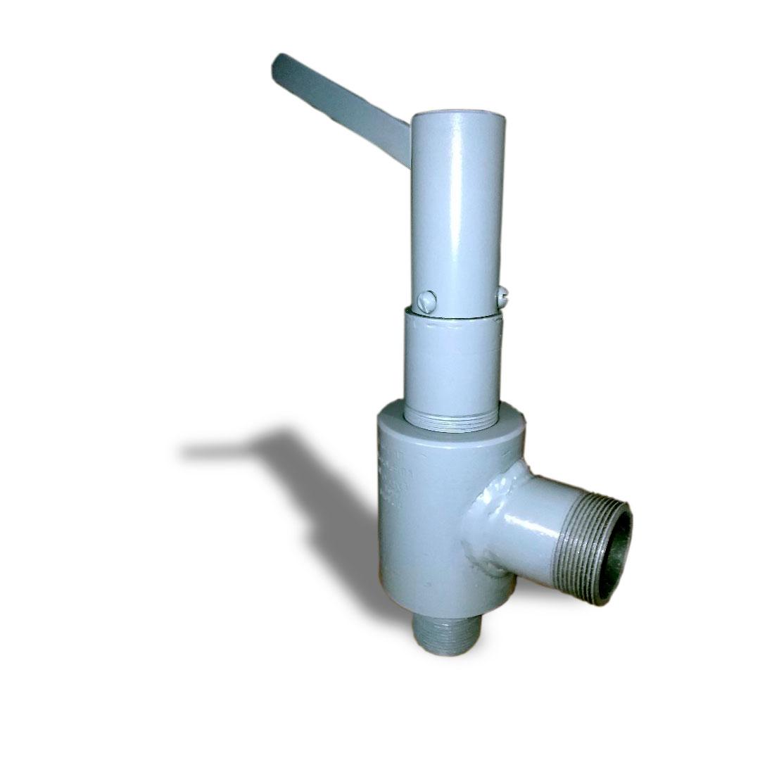 Клапан-предохранительный-рычажный-штуцерный